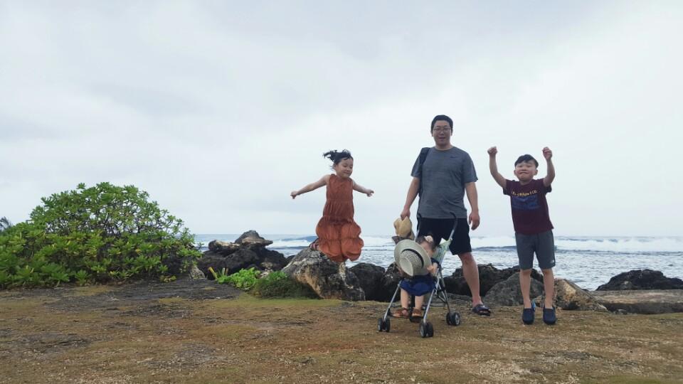 [포토 팡팡]가족여행은 괌이 최고인가 같아요^^