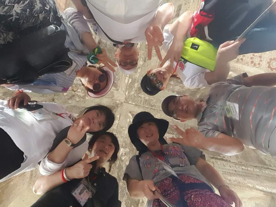 [포토 팡팡]캄보디아여행중..채경복가이드님과