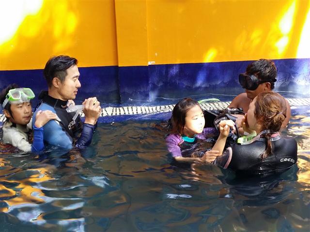 체험다이빙 강습