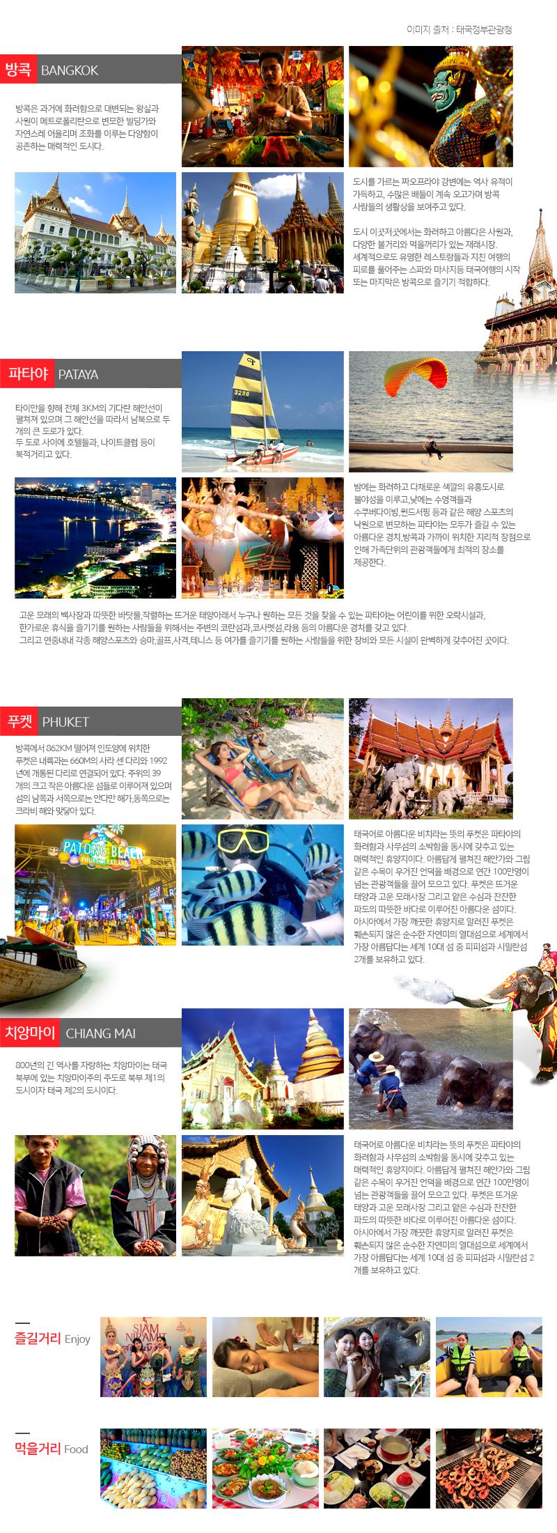 태국 관광 정보