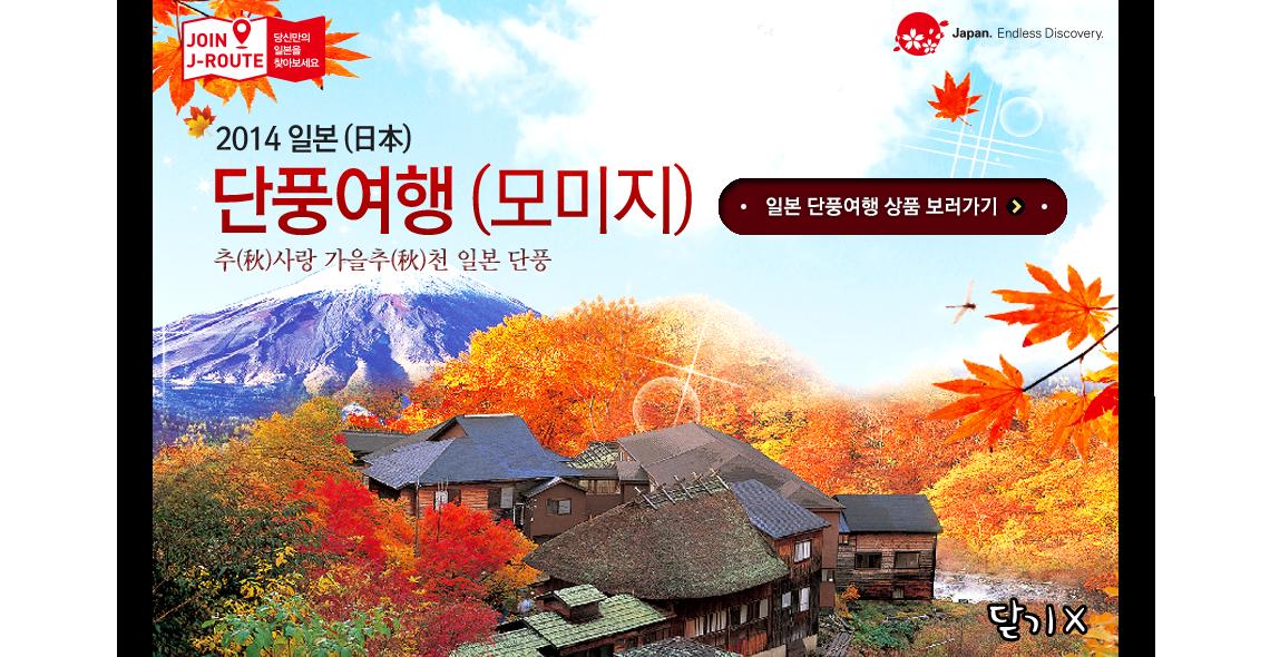 2014 일본 단풍여행 모미지