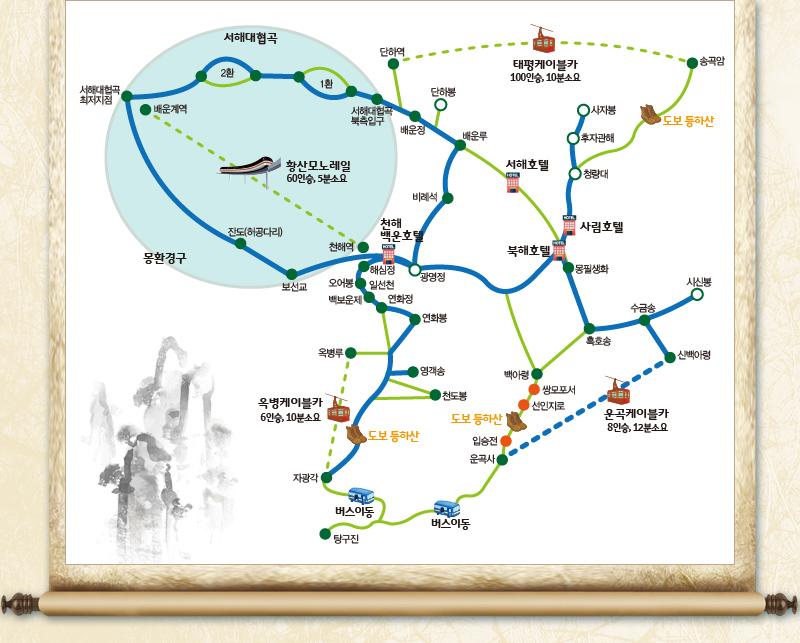 트레킹도보등정-운곡이용