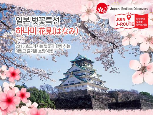 일본 벚꽃여행