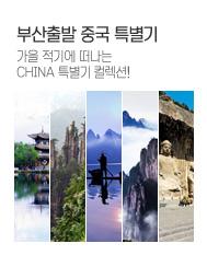 부산출발 중국 특별기