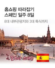 홈쇼핑 따라잡기 스페인 일주 8일