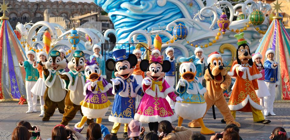 꿈같은 시간을!  도쿄 디즈니랜드/디즈니씨!