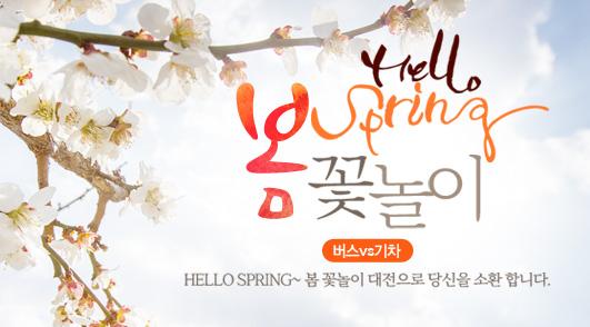 봄 꽃놀이 대전